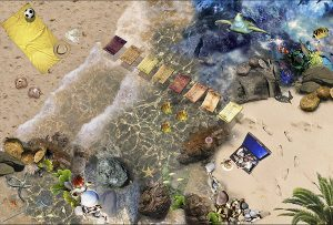 seaside flooring ideas for bathrooms