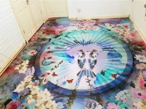 Funky Vinyl Flooring