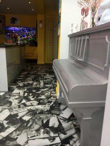 personalised photo floor